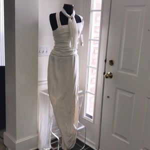 NWT NICOLE MILLER EVENING GOWN